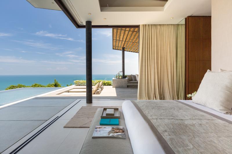 Raku Samui Bedroom One with Sea View | Maenam, Koh Samui