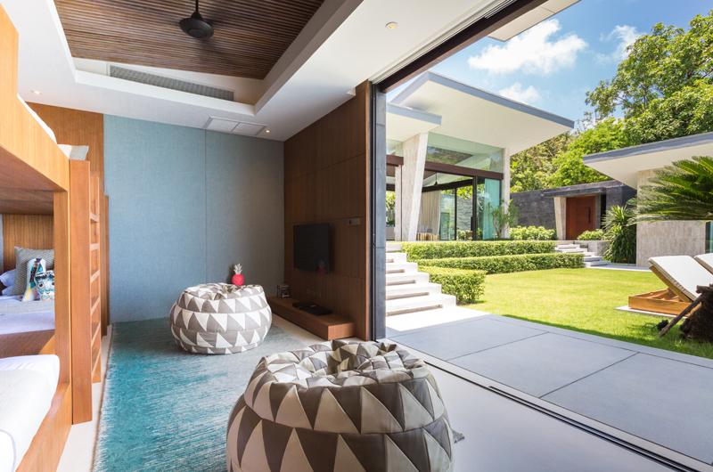 Raku Samui Bunk Bedroom with View | Maenam, Koh Samui