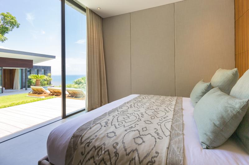 Raku Samui Bedroom Three with Pool View | Maenam, Koh Samui