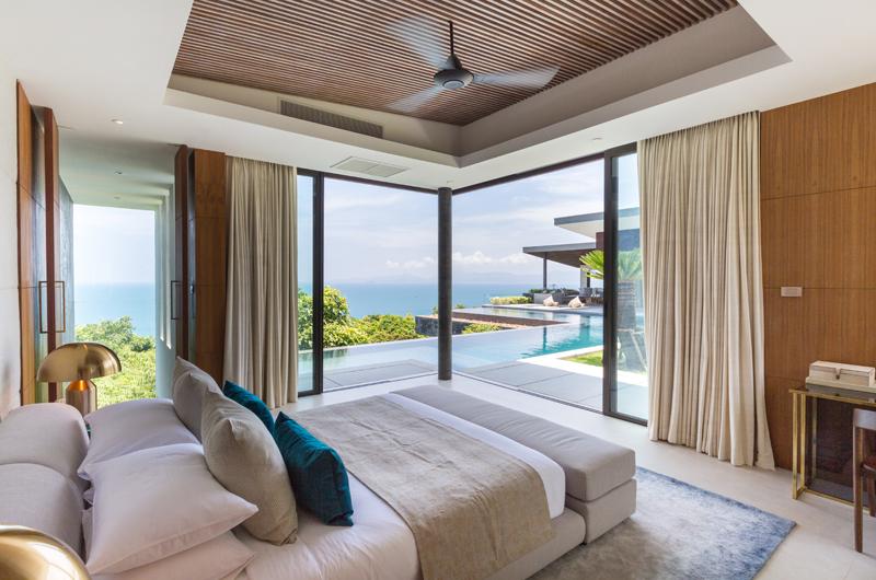 Raku Samui Guest Bedroom View | Maenam, Koh Samui