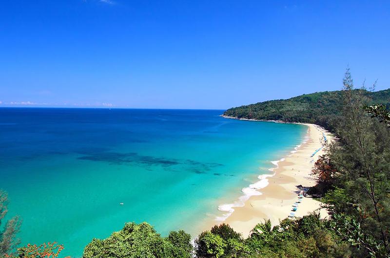 Phuket Naithon Malaiwana Naithon Beach View