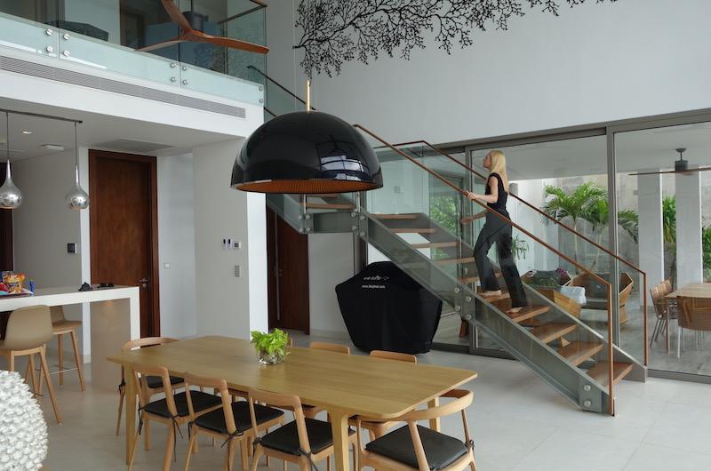 Phuket Naithon Malaiwana Residences Living Room Stairs