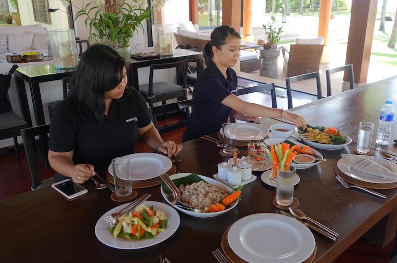 Phuket Natai Jivana Lunch