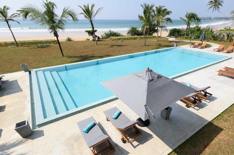 Sri Lanka The Boat House Pool Beach