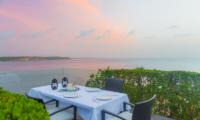 Ani Villas Anguilla Dining with Sea View | Anguilla, Caribbean