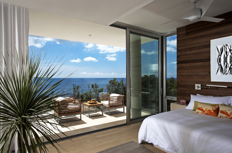 Ani Villas Anguilla Bedroom and Balcony | Anguilla, Caribbean