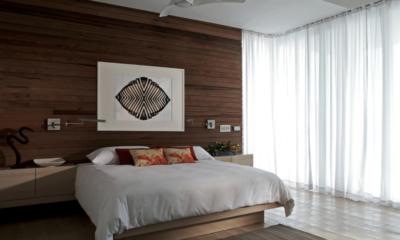 Ani Villas Anguilla Bedroom with Wooden Floor | Anguilla, Caribbean