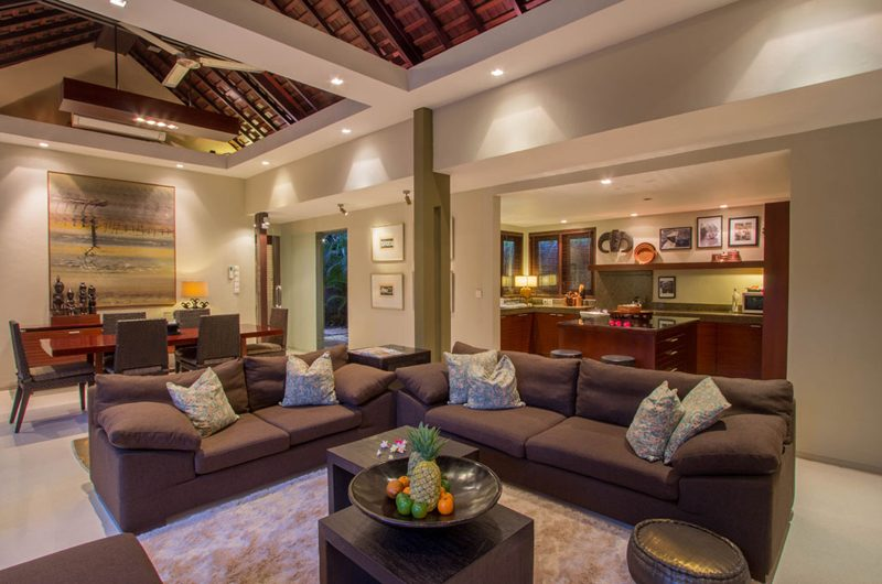 Chimera Green Indoor Living and Dining Area | Seminyak, Bali