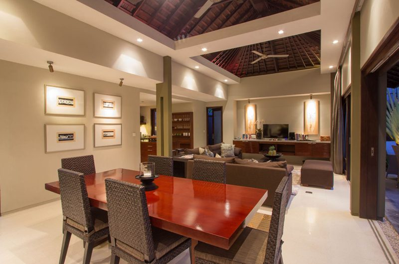 Chimera Green Living and Dining Area | Seminyak, Bali