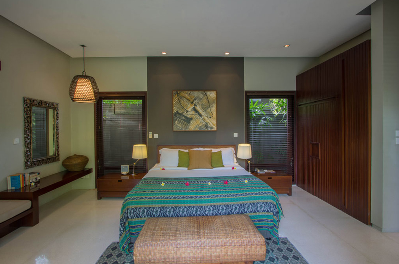 Chimera Green Bedroom with Seating Area | Seminyak, Bali