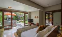 Chimera Orange Spacious Bedroom with Pool View | Seminyak, Bali