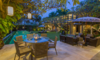 Chimera Tiga Pool Side Dining   Seminyak, Bali