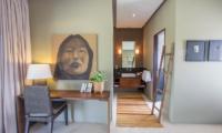 Chimera Tiga Bedroom with Study Table   Seminyak, Bali