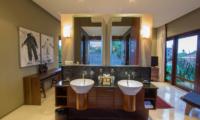 Chimera Tiga His and Hers Bathroom   Seminyak, Bali