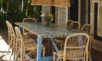 Garden House Dining Area | Bali, Seminyak