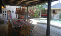 Garden House Dining Area | Seminyak, Bali