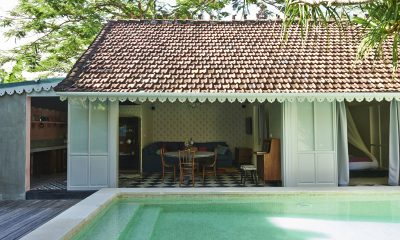 Pandan House Living Area with Pool View | Bali, Seminyak