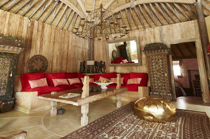 Round House Living Area | Bali, Seminyak
