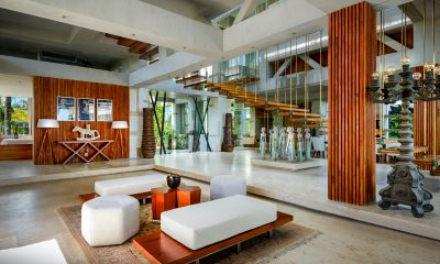 Villa Vedas Indoor Seating Area | Tabanan, Bali