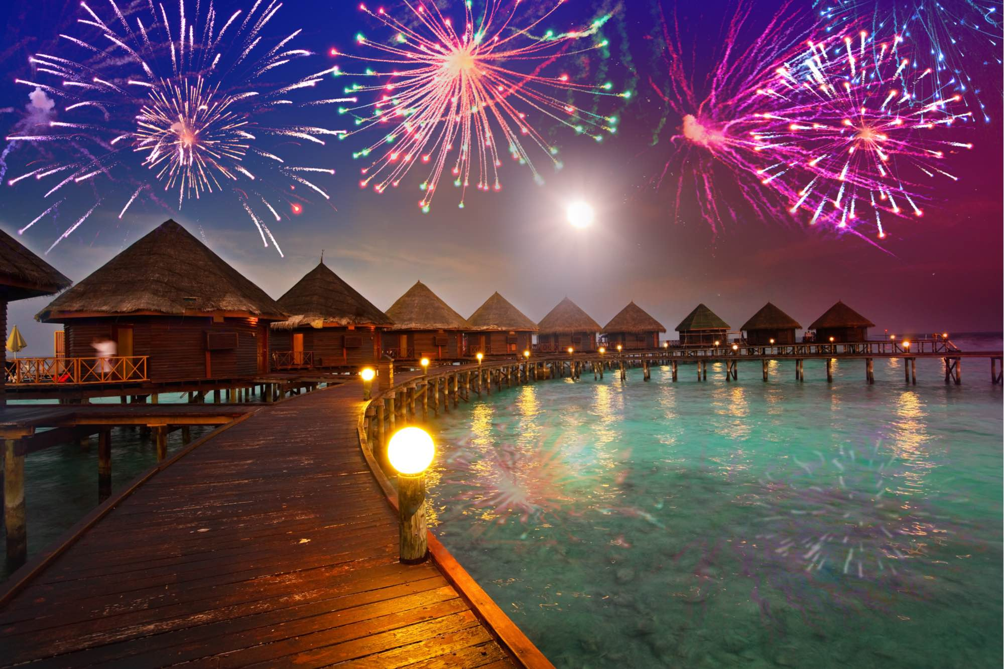 From Japan to Maldives, Ringing in the New Year in Style