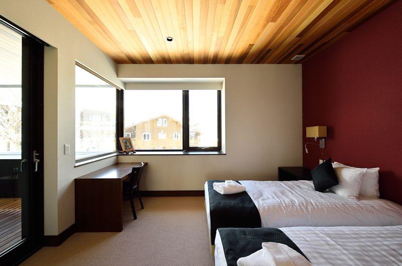 Panorama Bedroom with Twin Beds | Lower Hirafu Village, Niseko
