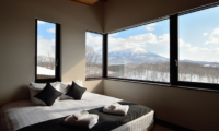 Panorama Bedroom with Mountain View | Lower Hirafu Village, Niseko