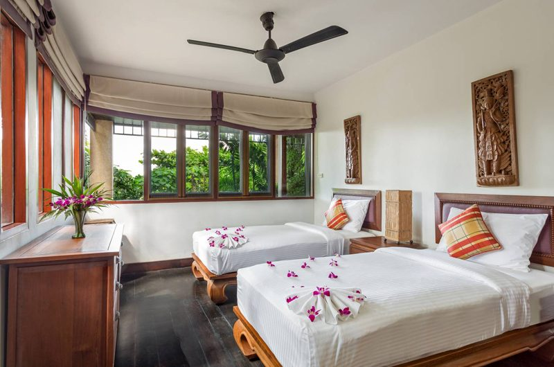 Baan Hen Phuket Twin Bedroom with Garden View | Kata, Phuket