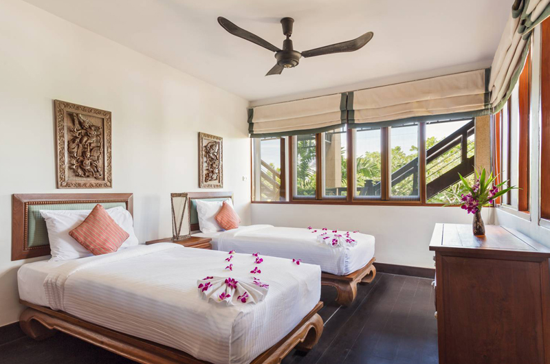 Baan Hen Phuket Bedroom with Twin Beds | Kata, Phuket