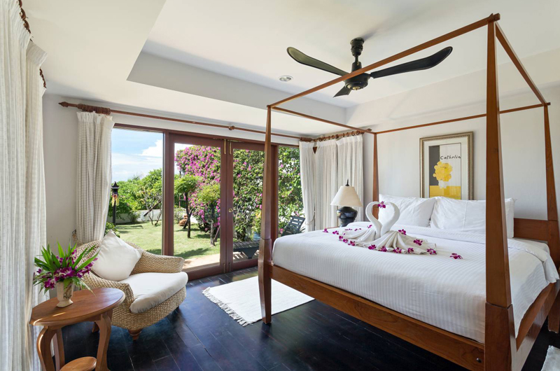 Baan Hen Phuket Bedroom with Four Poster Bed | Kata, Phuket