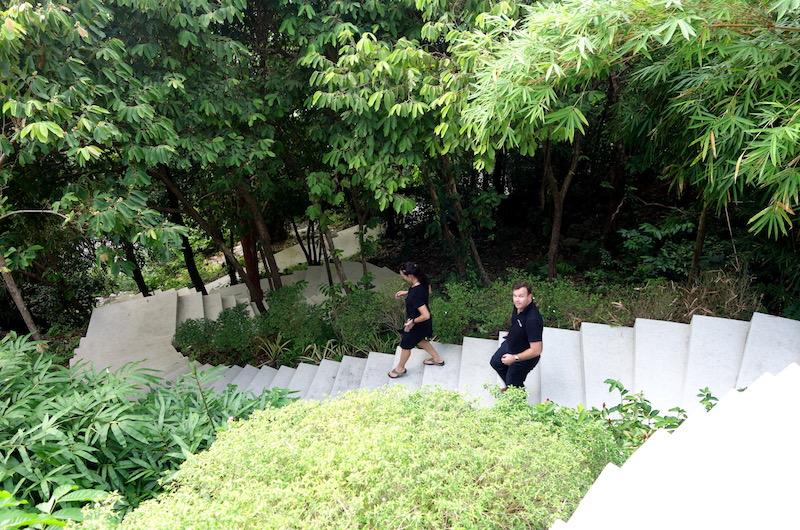 Phuket Kamala Baan Paa Talee Stairs