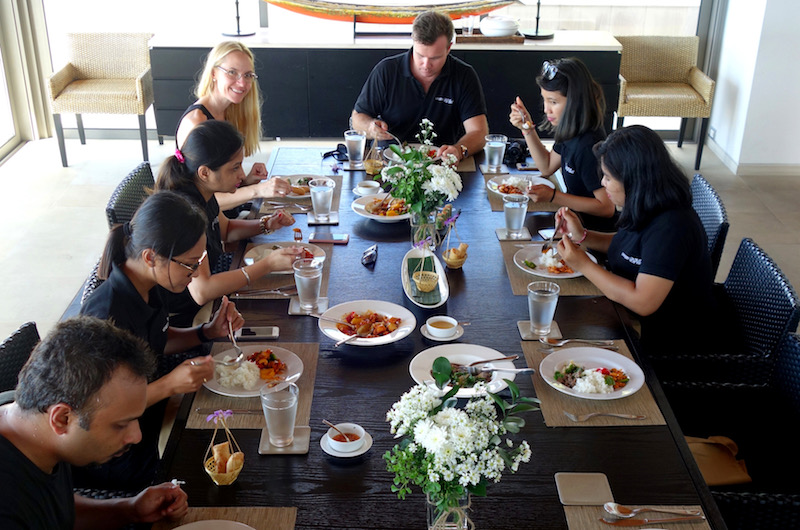 Phuket Kamala Baan Paa Talee Team Lunch