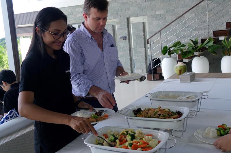 Phuket Kamala Villa Saan Food