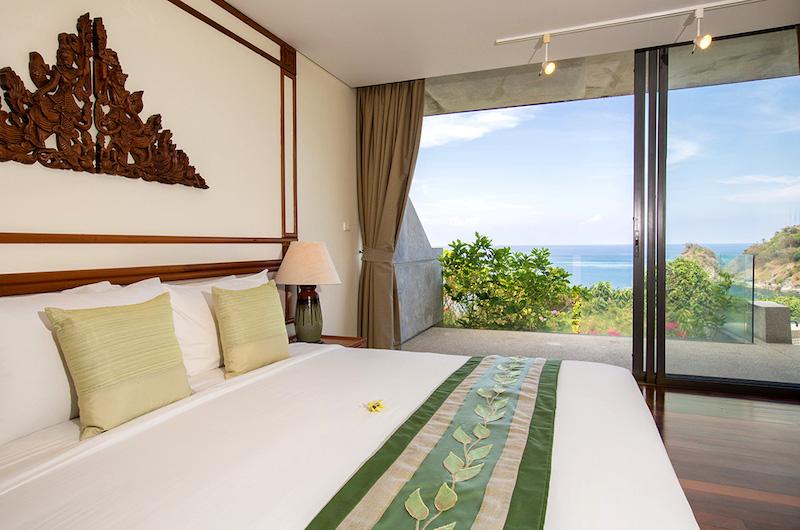 Phuket Kamala Villa Viman Bedroom View