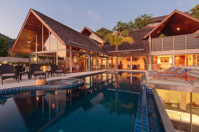 Phuket Kamala Villa Viman Sunset