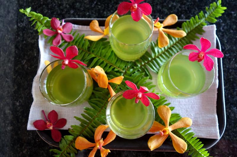 Phuket Kamala Villa Viman Welcome Drinks