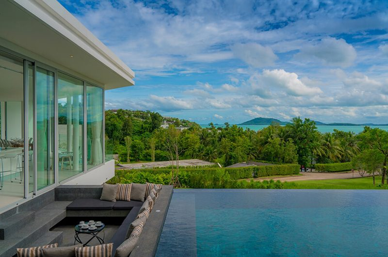 Villa Abiente Pool Side Seating Area | Cape Yamu, Phuket