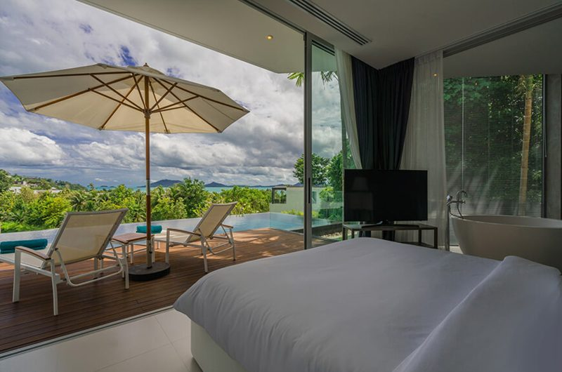 Villa Abiente Bedroom and En-suite Bathroom | Cape Yamu, Phuket