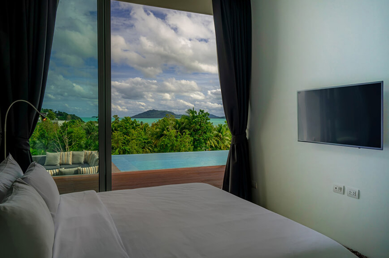 Villa Abiente Bedroom with Sea View | Cape Yamu, Phuket