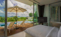 Villa Abiente Bedroom with Pool View | Cape Yamu, Phuket