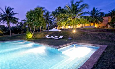 Blue Heights Pool at Night   Dickwella, Sri Lanka