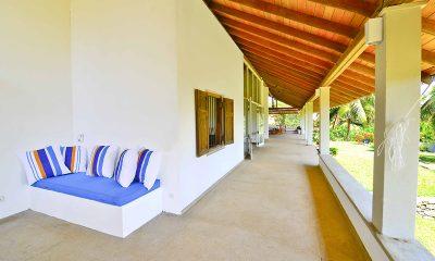 Blue Heights Outdoor Seating Area   Dickwella, Sri Lanka