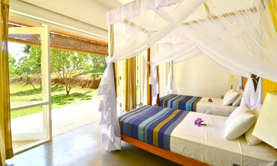 Blue Heights Twin Bedroom with Garden View   Dickwella, Sri Lanka