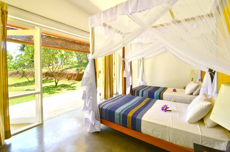 Blue Heights Twin Bedroom with Garden View | Dickwella, Sri Lanka