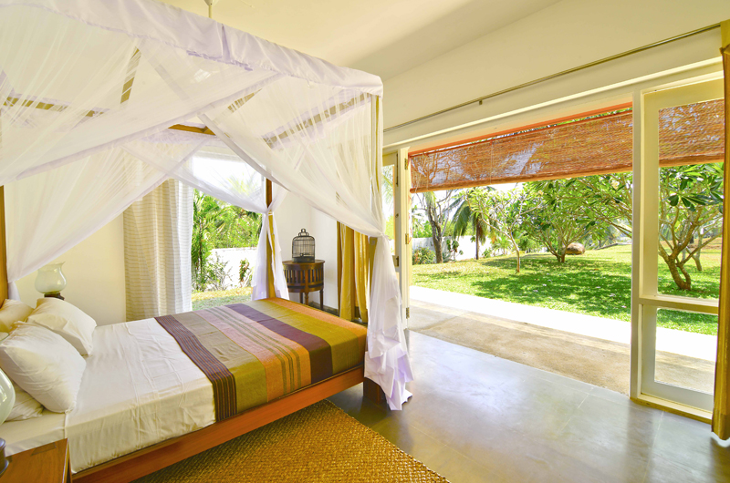 Blue Heights Bedroom with Garden View | Dickwella, Sri Lanka