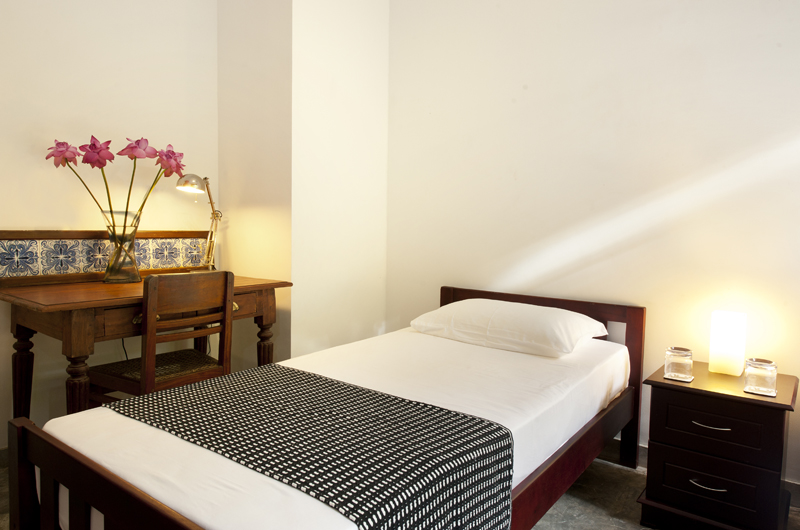 Salina Single Bed with Study Table | Mirissa, Sri Lanka