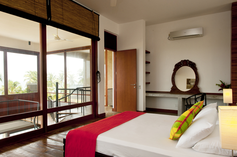 Salina Bedroom and Balcony | Mirissa, Sri Lanka