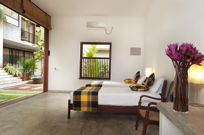 Salina Twin Bedroom View | Mirissa, Sri Lanka