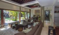 Chimera Green Open Plan Living Area | Seminyak, Bali