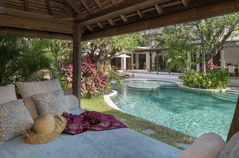 Lataliana Villa One Pool Side Seating Area | Seminyak, Bali