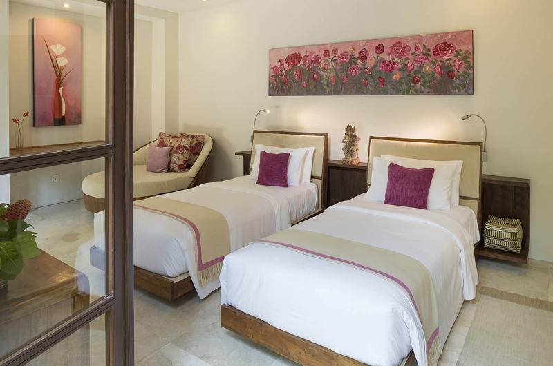 Lataliana Villa One Twin Bedroom | Seminyak, Bali